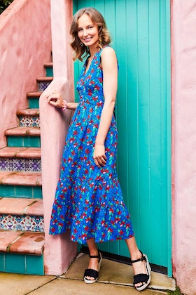 that bird label Scarlet Summer Dress Kaleidoscope