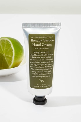 The Aromatherapy Co Gardener Repairing Hand Cream Wild Lime & Mint