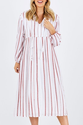 boho bird When In Rome Dress
