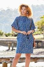 handpicked by birds Bell Sleeve Tunic Dress