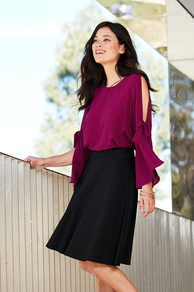 bird by design The Open Sleeve Blouse
