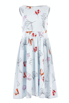 that bird label Beth Fit And Flare Dress Vistoso