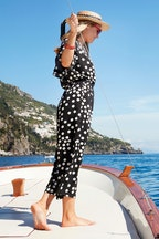 boho bird Dotty About You Jumpsuit