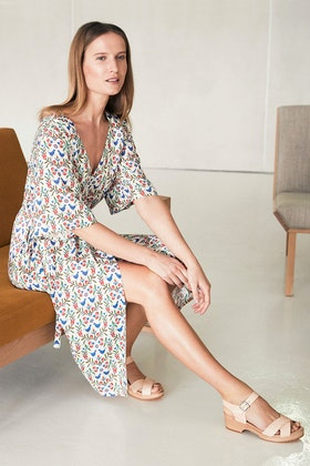 Scandi bird Mysa Wrap Dress