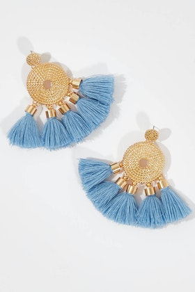 Greenwood Designs Awesome Tassel Earrings