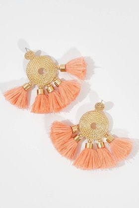 Greenwood Designs Awesome Tassel Earrings