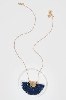 Greenwood Designs Tassel Pendant Necklace