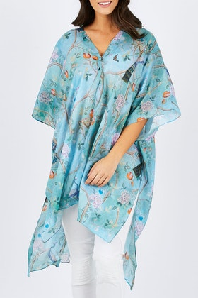 boho bird Summer Whispers Kimono