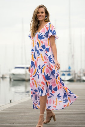 Elm Secret Garden Maxi Dress