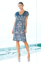 Hammock & Vine Embroidered Dress