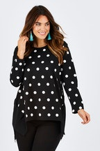 Threadz Ponte Spot Top