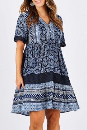 Threadz Embroidered Dress