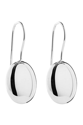 Najo Pebble Sterling Silver Earrings