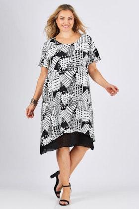 Gordon Smith Patterned Dress