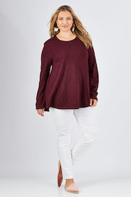 The Long Sleeve Swing Tee