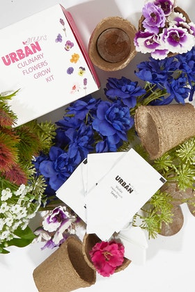Urban Greens Culinary Flowers Grow Kit