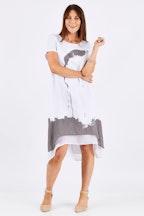 Clarity By Threadz Layered Dress