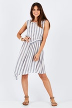 Threadz Ruche Front Dress