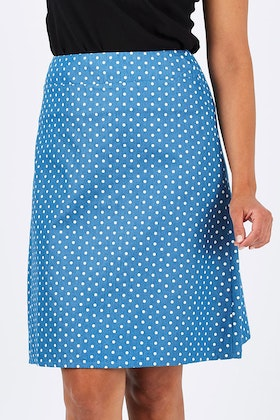 handpicked by birds Printed A-line Skirt