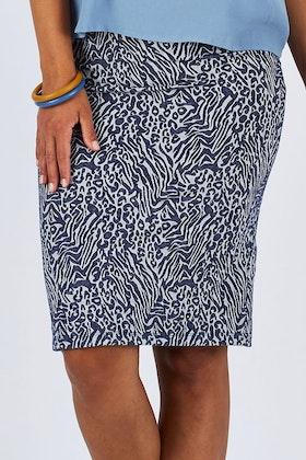 handpicked by birds Jacquard Tube Skirt