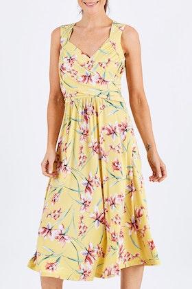 bird by design The Diamond Neckline Dress
