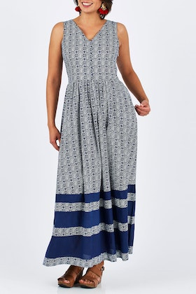 that bird label Patricia Maxi Dress Bahama