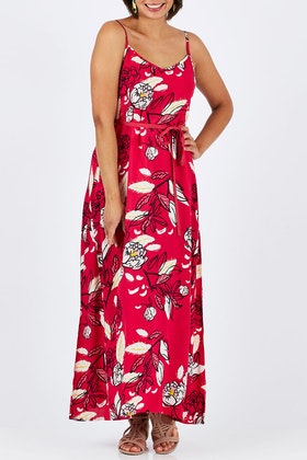 that bird label Penny Maxi Dress Catalonia