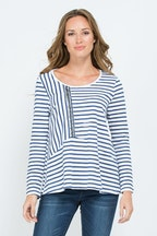 Threadz Spiced Stripe Tee