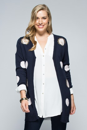 Clarity By Threadz Spot Cardigan