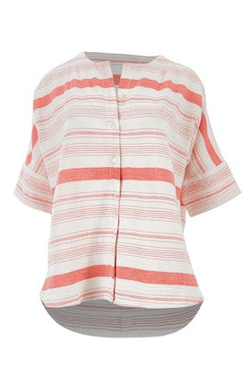 bird keepers The Stripe Button Through Top