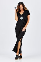 bird keepers The Side Split Maxi Dress