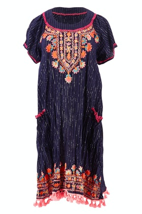 Naudic Sao Paulo Dress Taj Aari Embroidery