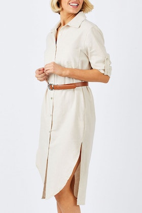 Carousel Lifestyle Palazzo Shirt Dress