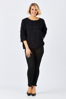PQ Collection Nice Sleeved Top