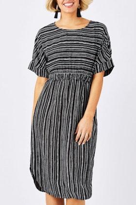 Fate + Becker Britt Elasticated Waist Dress