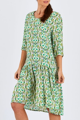 Scandi bird Hygge Drop Waist Dress