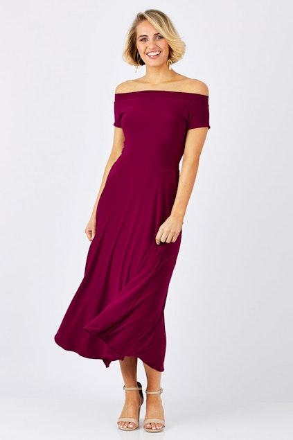 980c7692c144 Leina Broughton Xanthe Dress - Womens Calf Length Dresses ...