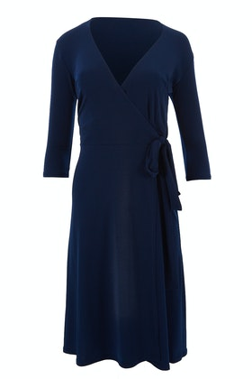 Rebecca Ruby Essential Little Navy Dress
