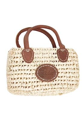 2 Duck Trading Open Weave Small Basket Bag
