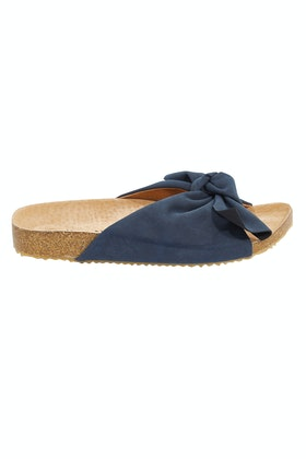 Walnut Somerset Flat Bow Sandal