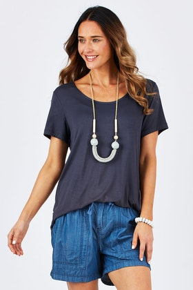 bird keepers The Round Neck Bamboo Tee