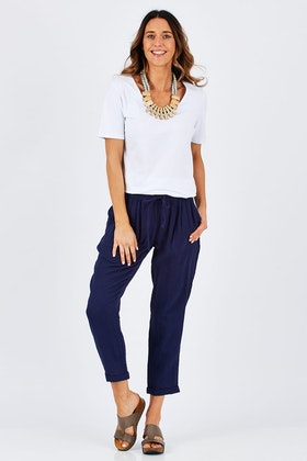 bird keepers The Bonded Cotton Pant