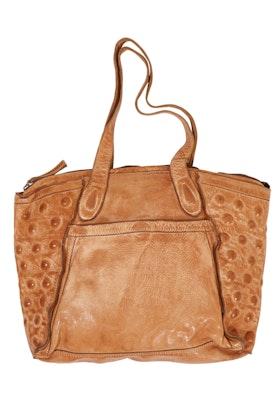 Kompanero Eva Leather Shoulder Bag