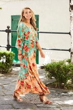 boho bird Take Me To Siena Dress