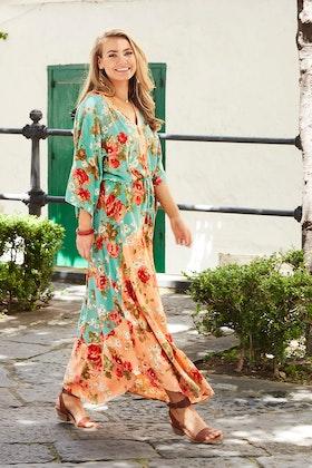 boho bird Take Me To Siena Dress