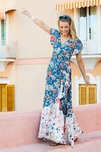 boho bird La Dolce Vita Maxi Dress