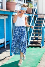 boho bird Ciao Bella Skirt