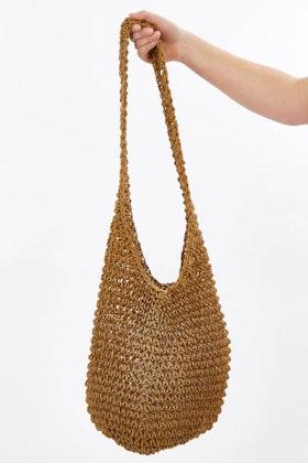 Apple Green Duck String Messenger Bag