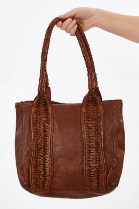 Kompanero Birdie Leather Shoulder Bag