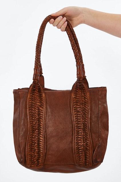 Kompanero Birdie Leather Shoulder Bag - Womens Handbags - Birdsnest Online  Clothing Store af483e3234f43